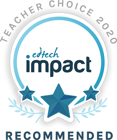 As recommended by teachers on edtechimpact